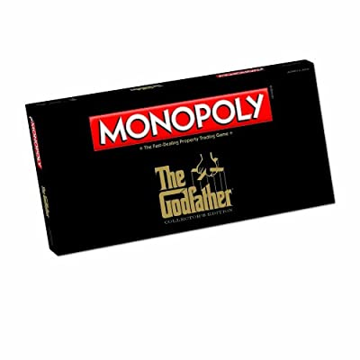 Monopoly The Godfather Edition Board Game from Usaopoly