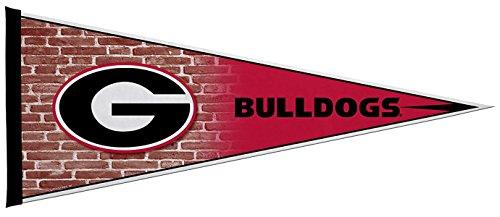 Rico Industries NCAA Georgia Bulldogs 12-Inch by 30-Inch Classic Pennant Décor