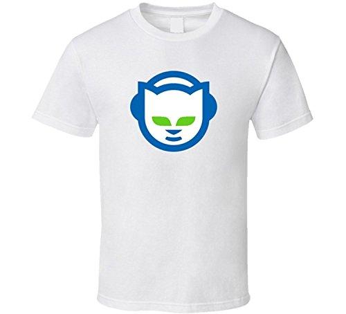 Logo 2 T-shirt Tech (Lianfa Napster Fan Open Internet Classic Tech Logo Wired Magazine T Shirt)