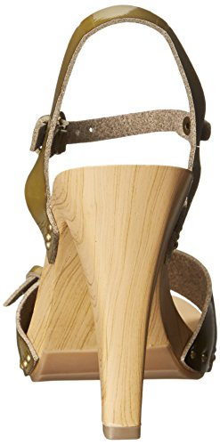 S Sandal Mushroom Saffire Patent Women's Dress Nina ZaSEvE