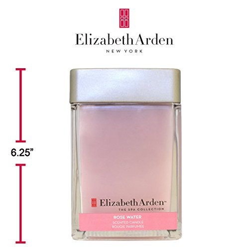 Elizabeth Arden 20 oz Rose Water scented Soy Candle | Great Smoke Odor Exterminator | Great HousewarmingGift (Elizabeth Arden Discount)