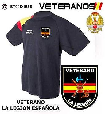 Bazarlegionario Camiseta Veterano Legión Española ST01D1635 (XXL ...