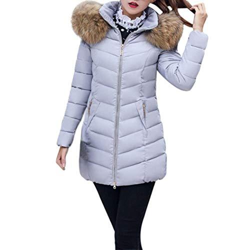 Con Solidi Cute Irregolare Invernali Colori Fashion Lunga Manica Bendare Chic Donna Trapuntato Eleganti Grigio Hot Termico Giacca Cappotto Outerwear Allentato UXBSxPw