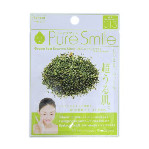 ピュアスマイルエッセンスマスクシリーズ 緑茶100枚セット   B00J8DC404