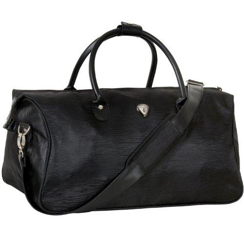 calpak-hampton-black-grain-20-inch-carry-on-duffel