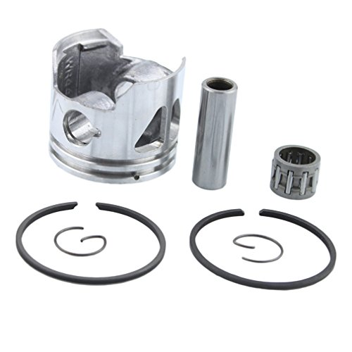 GOOFIT 40mm Piston Kit Assembly for 2 Stroke 47cc 49cc Zenoah G23LH G2D Goped Sport Liquimatic Bigfoot X-Ped (40mm Piston)