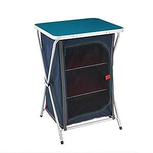 GUO Acampamento al aire libre Conveniente almacenamiento Mesa de ...