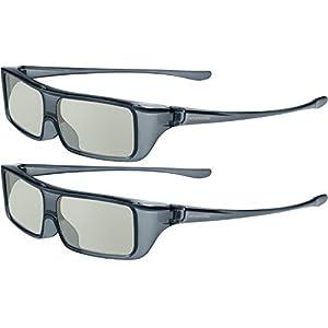 (Pack of 2) Panasonic TY-EP3D20U Passive 3D Eyewear Glasses
