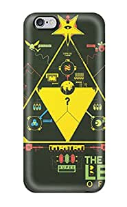 Pretty Iphone 6 Plus Case Cover/ The Legend Of Zelda Series High Quality Case