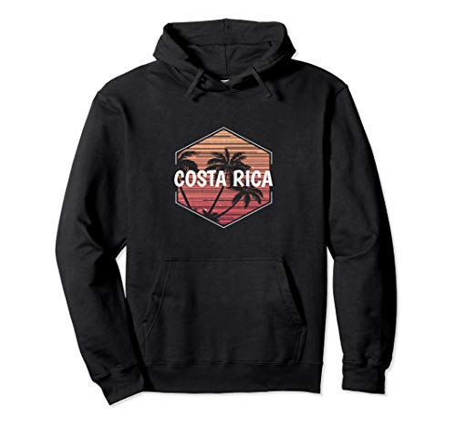 Costa Rica Vacation Hoodie Top Family Souvenir Clothes Cool (Sleeve Long Sweatshirt Rico)