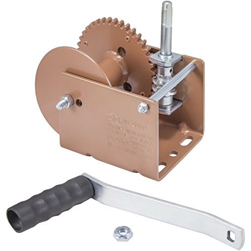 (Goldenrod Dutton-Lainson WG2000 Worm Gear Winch 2000 lb)
