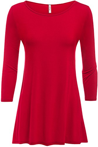 Red A-Line Top - 9