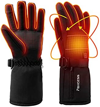 Paxcess 4000mAh Rechargeable Battery Heated Men's Gloves