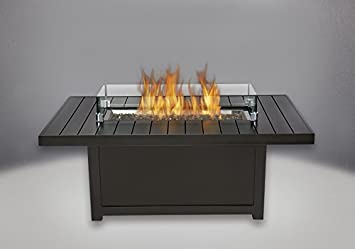 Limited Time Offer: Napoleon St. Tropez Patio Flame Table with Original Cover and Windscreen (Rectangle 36″ W x 55.5″ D x 24″ H) Napoleon Canada