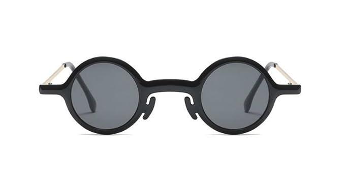 Amazon.com: Pequeño y redondo de anteojos de sol para mujer ...
