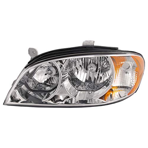 lacement for Kia Spectra Headlight Sedan OE Style Replacement Headlamps Driver Side New ()