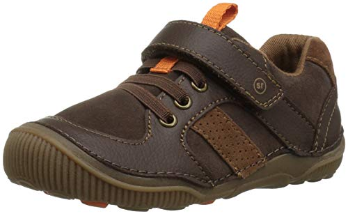 Stride Rite Boys' SRT Wes Casual Sneaker, Brown, 6 W US Toddler