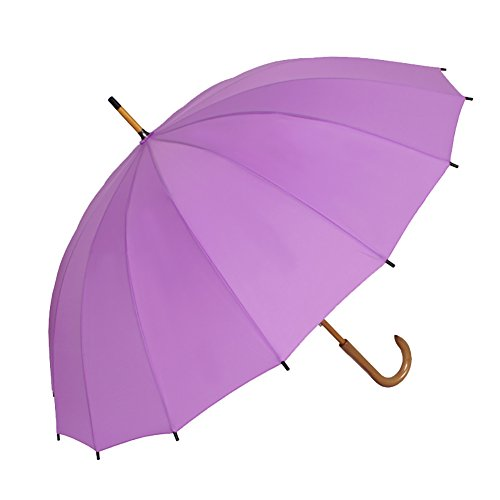 Generic Grid Rim Umbrella 60inch Color Purple by Generic