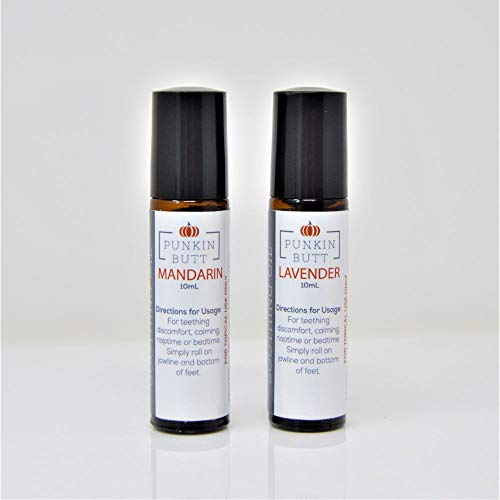 Punkin Butt Soothing Oil Set- Calm Baby with organic Lavender and Mandarin essential oils