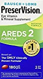 PreserVision Eye Vitamin and Mineral Supplement, Areds 2 Formula - Speciialll VALUE pack of 180 count total PreserVision-fL