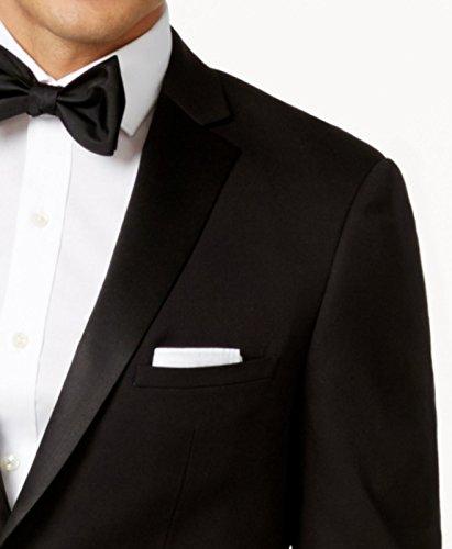 Dressvip Costume Homme pour Mariage Couleur Unie Noir Deux Boutons Slim Fit  Deux Pièces Pantalon Veste  Amazon.fr  Vêtements et accessoires 0c850b94a67