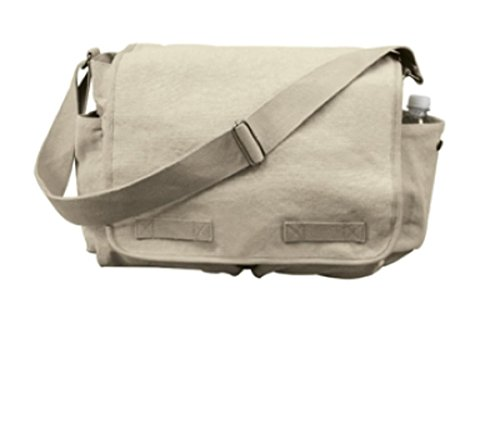 Rothco Classic Heavyweight Canvas Messenger Bag - 2
