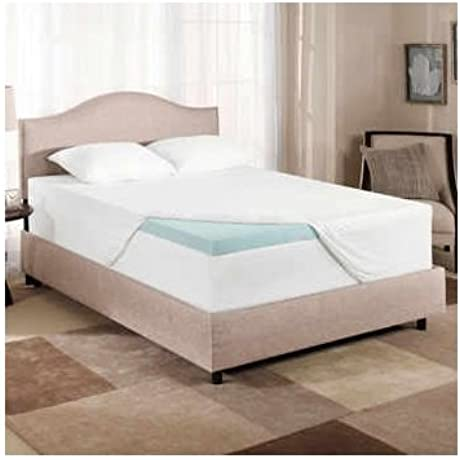 Novaform Gel Memory Foam 3 Inch Mattress Topper King Size