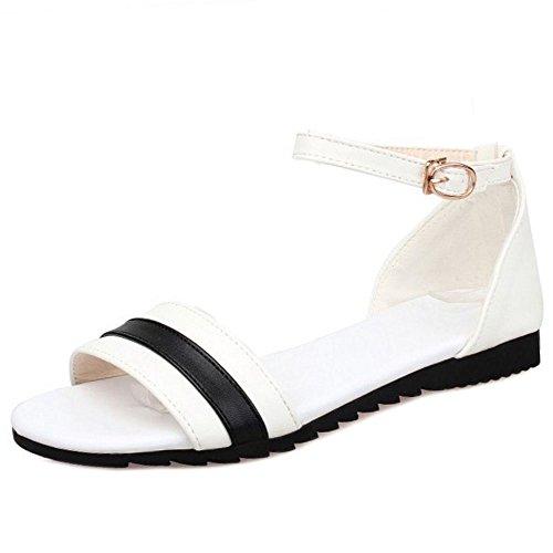 White Estate Girls Zanpa Scarpe Comfort Spiaggia fxXF88wZq