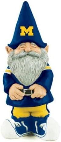 One Size Blue NCAA Michigan Wolverines Mini 8 Team Gnome