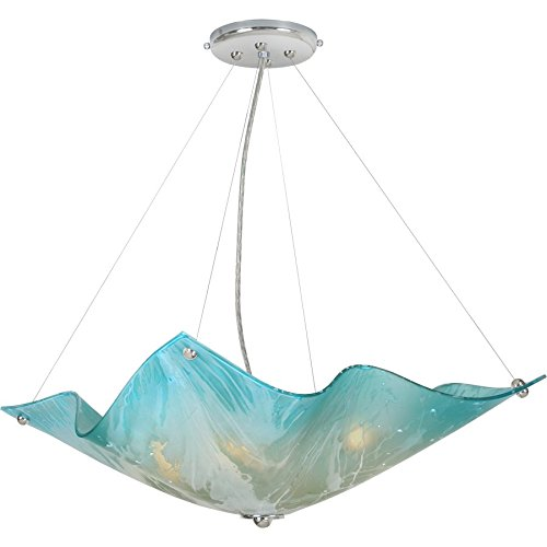 (Van Teal 541550 Blue Dawn Private Events Chandelier, No No Size, Polished Chrome)