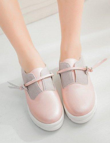 De Rosa plataforma Pink negro pu Blanco mocasines Uk5 Mujer Zq Eu39 5 Cn38 exterior Azul Cn39 us8 plataforma us7 Eu38 Zapatos Blue 5 Uk6 Comfort PIxOzq5w