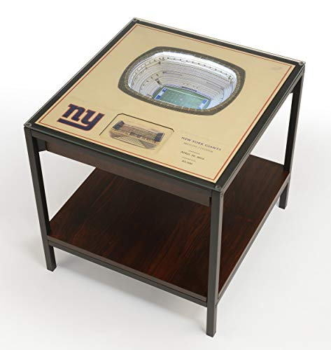 (YouTheFan NFL New York Giants 25-Layer StadiumViews Lighted End Table, 23