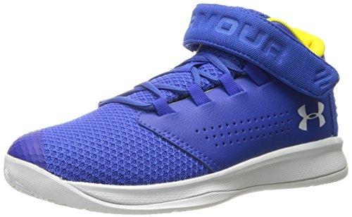 - Under Armour Boys' Pre School Get B Zee Basketball Shoe, Team Royal (400)/White, 3