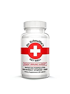 Dr. Schnuffies Wellness Formulas Natural Supplements (Get Well)