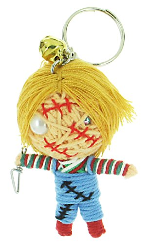 [Child's Play Chucky Voodoo String Doll Keyring Keychain] (Voodoo Doll Costume Child)