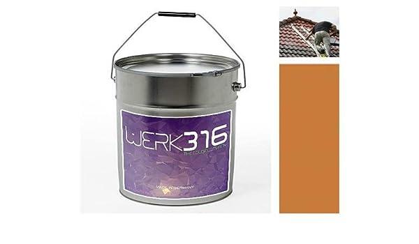 5,81 €/kg ziegelsanie de techo color sellado techo renovación techo ...