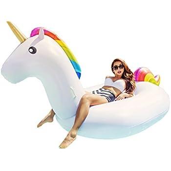 Amazon Com Floaty Big Inflatable 70 Quot Unicorn Pool Float