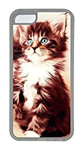 iPhone 5c case, Cute Cat 28 iPhone 5c Cover, iPhone 5c Cases, Soft Clear iPhone 5c Covers