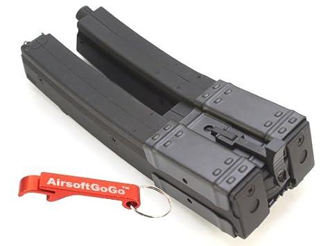 MP5 560 rds Dual Cargador para Airsoft Marui Standard AEG ...