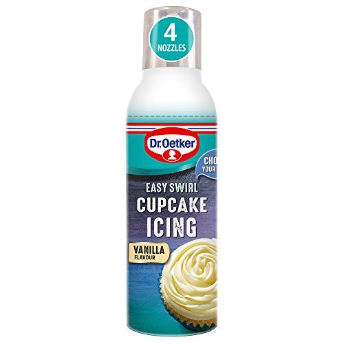 Dr. Oetker - Easy Swirl Cupcake Icing - Vanilla - ()