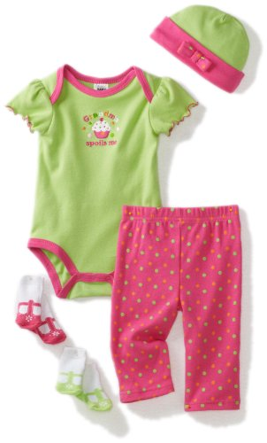 Baby Essentials Baby-girls Newborn Grandma Spoils Me Layette Set