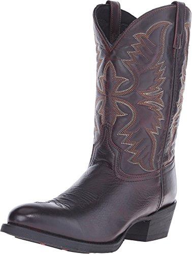 (Laredo Men's Birchwood Cowboy Boot Medium Toe Black Cherry 11 D(M) US)