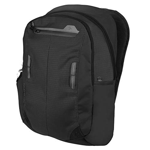 41ULYfNlH6L - Travelon Anti-Theft Active Daypack, Charcoal
