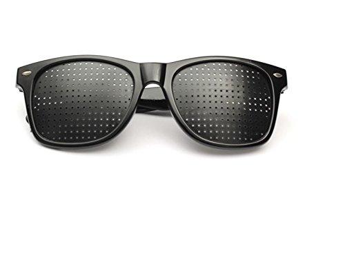 Anti Fatigue Eyesight Vision Improve Pin Holes Stenopeic Glasses Eye Care Sun Glassess by AdvancedShop