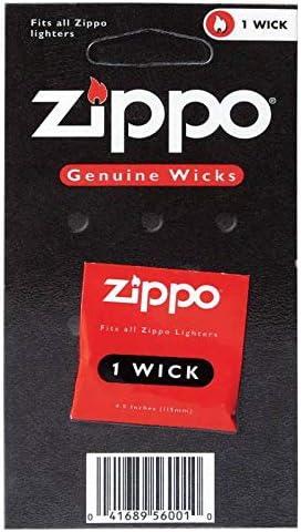 Zippo – Juego de Equipamiento Original: mechero Zippo Cromado + ...