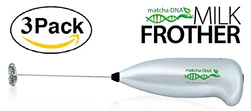 MatchaDNA Milk Frother - Handheld Battery Operated Electric