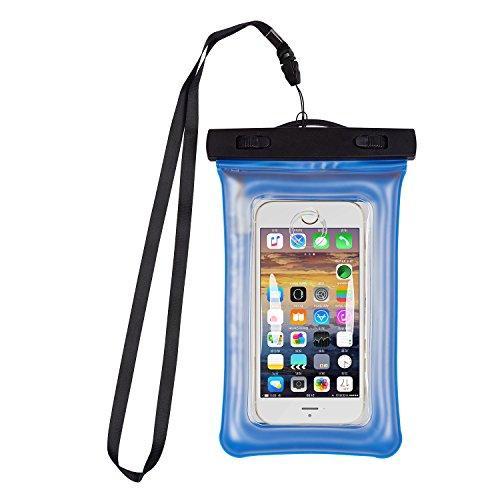 garyesh impermeable teléfono celular teléfono celular bolsa seca bolsa con fugas LED Alarma para iPhone 77Plus 6S 6/6S...