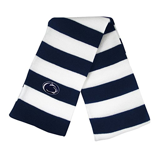 Penn State University Knit Rugby Scarf