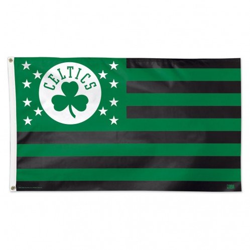 WinCraft Boston Celtics NBA American Flag 3 x 5 Foot