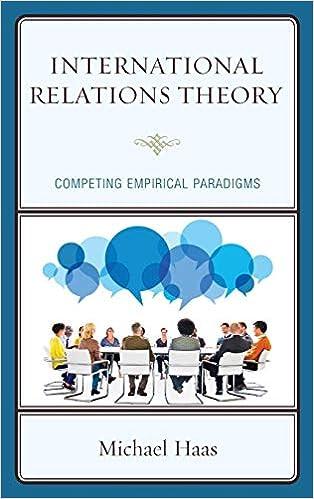 International Relations Theory: Competing Empirical Paradigms